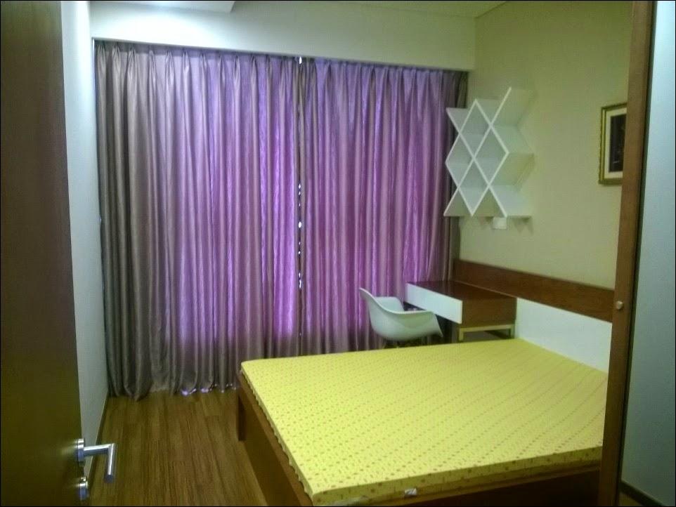 Phòng ngủ nhỏ căn hộ Thảo Điền pearl