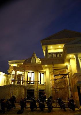 Rumah Anang Tampak dari Depan