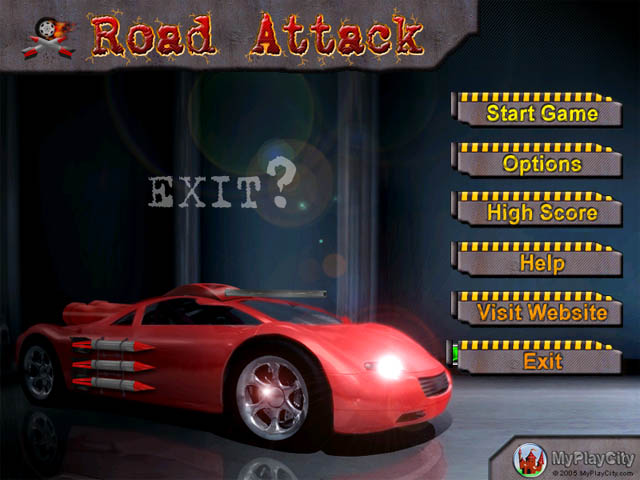 free Road Attack Game