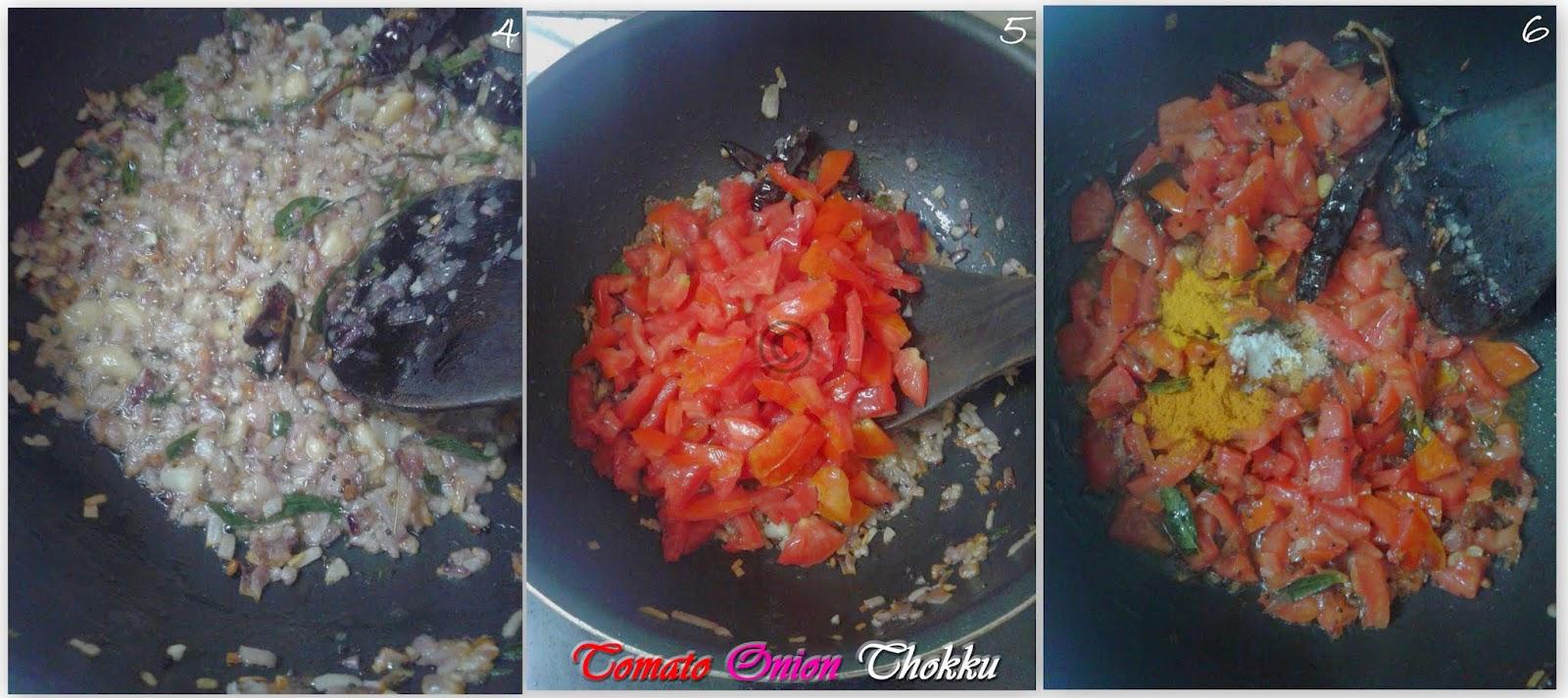 tomato-onion-thokku