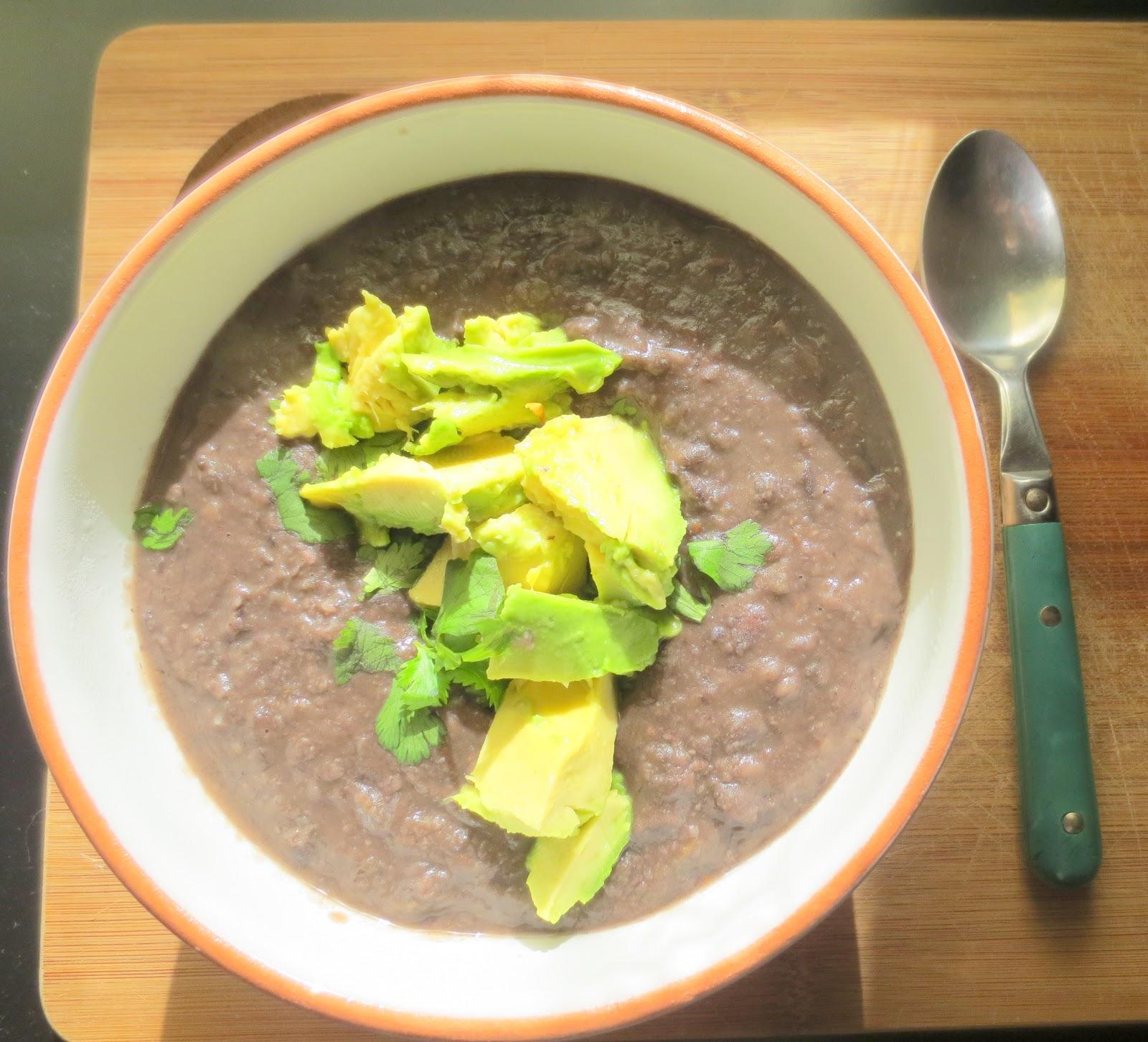 Boston Girl Bakes: Simple Black Bean Soup