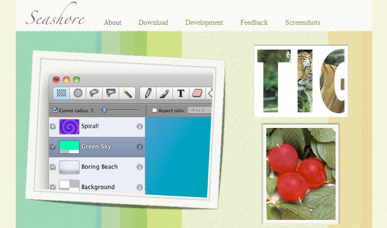 Seashore - Open Source Image Editor for Mac OS X