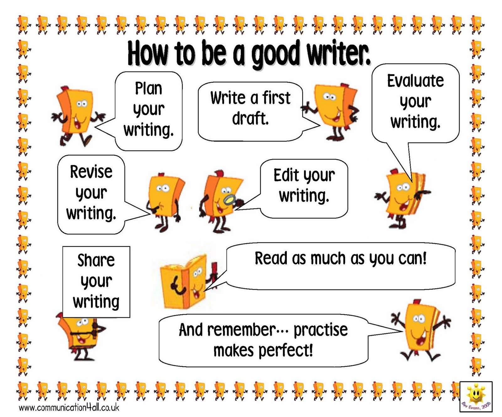 How to become a good writer essay
