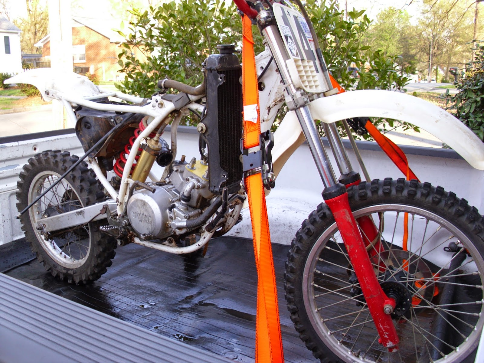 Motorcycle Renew Project Yz80 Restoration