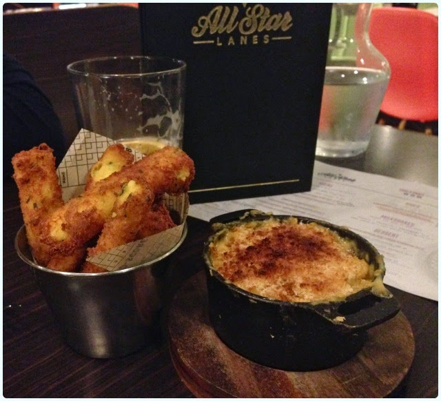 All Star Lanes, Manchester - Sides