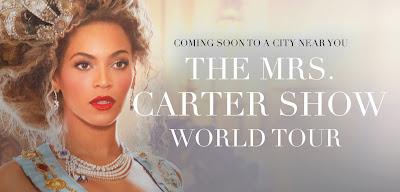 cidades onde acontecem shows Beyoncé no Brasil