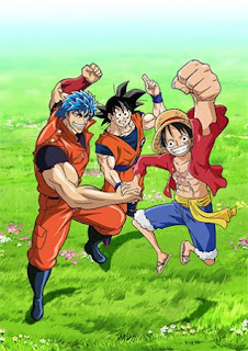 Dream 9 Toriko & One Piece & Dragon Ball Z Super Collaboration S