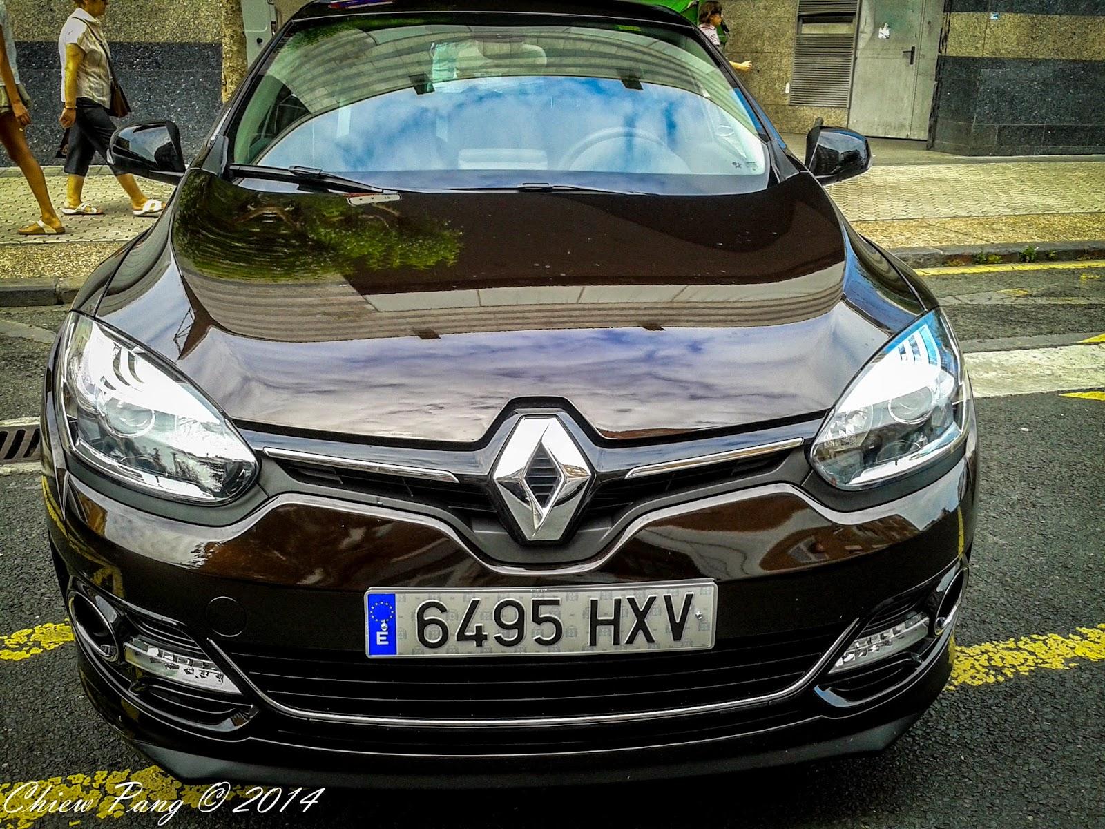 Renault Megane, start-stop model