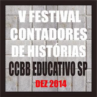 V FESTIVAL DE CONTADORES DE HISTÓRIAS CCBB SP - vídeo