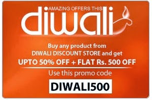 Rediff Amazing Diwali Offer: Upto 50% Off + Get additional Flat Rs.500 Off on Lifestyle | Electronics | Home & Kitchen Products