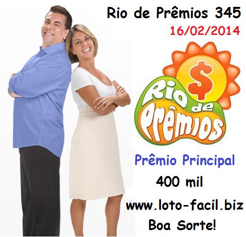 Resultado Rio de Prêmios 345