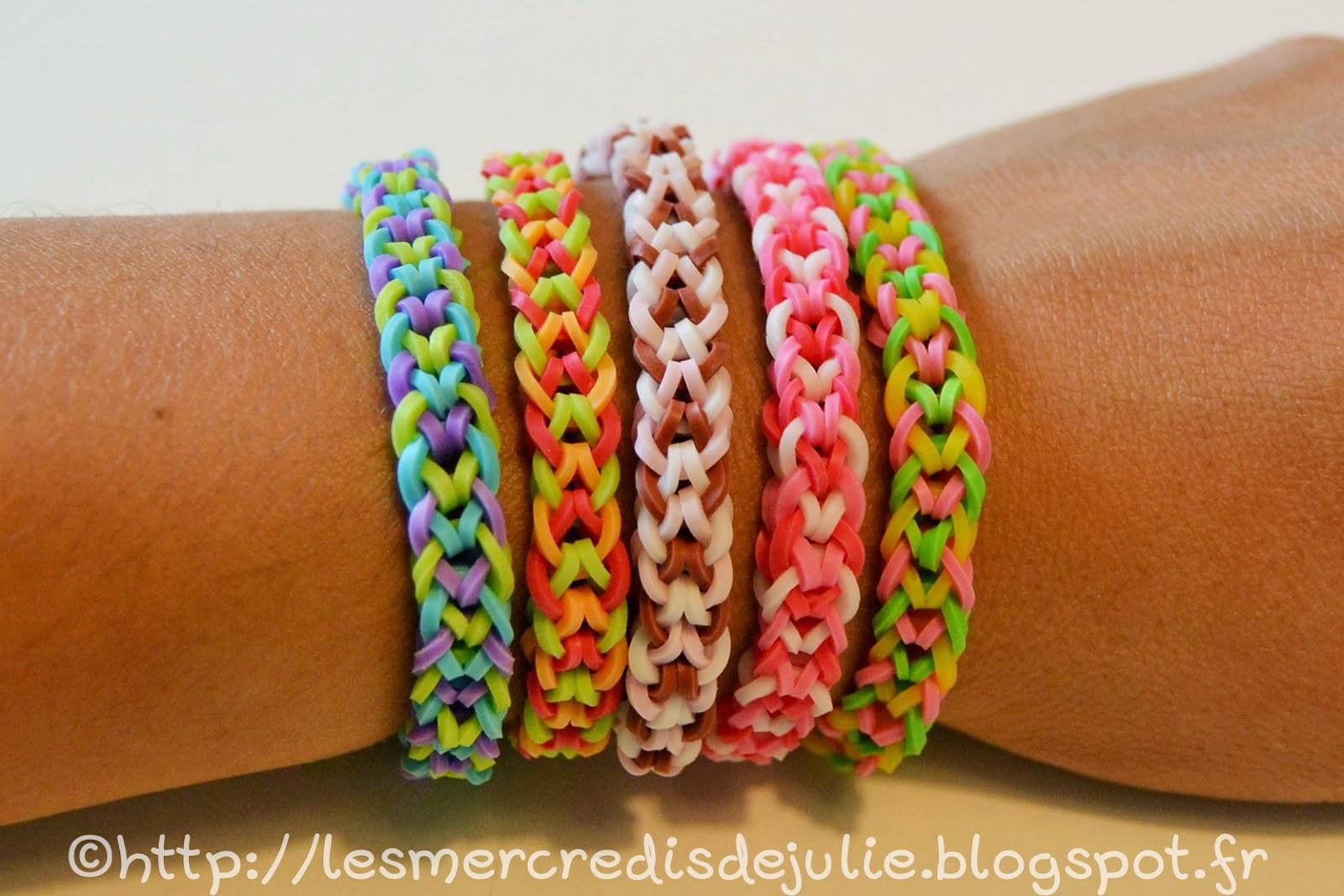 bracelet en elastique