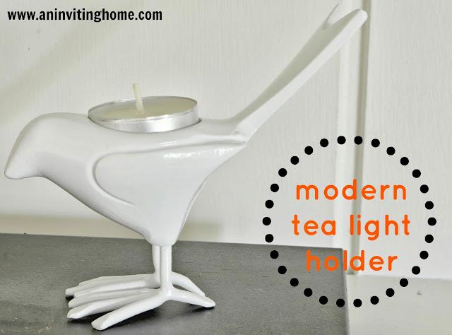 modern tea light holder from CB2