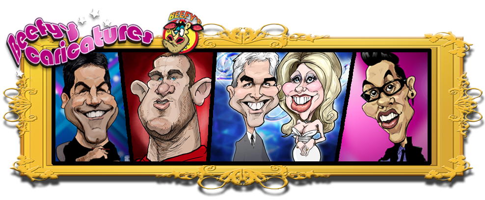 Beefy's Caricatures