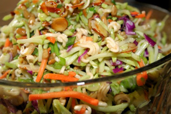 The Recipe Lady: Oriental Ramen Broccoli Coleslaw
