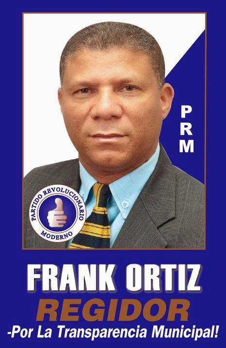 FRANK ORTIZ, REGIDOR PRM
