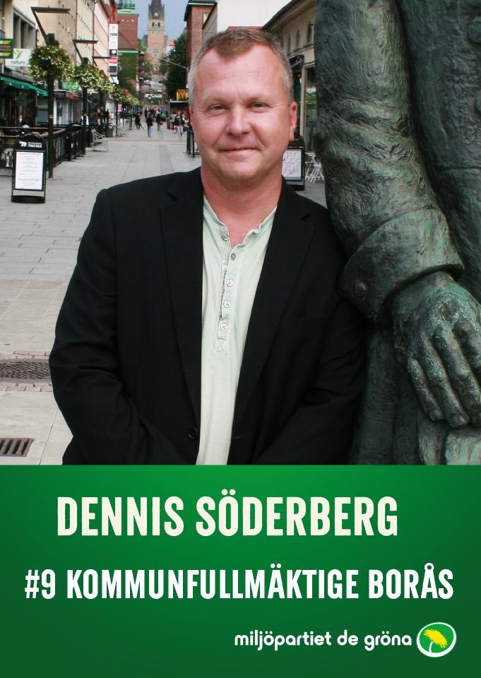 Fullmäktigekandidater - #9 Dennis Söderberg