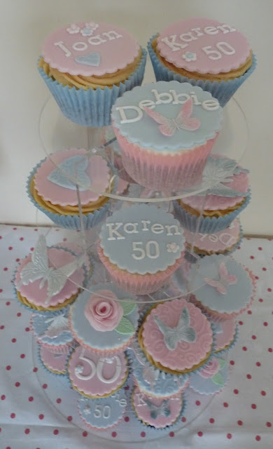 Cupcakes For 50th Birthday