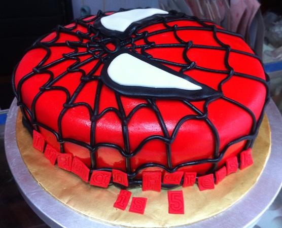 Kek Afrina Spiderman Cake Auto Design Tech