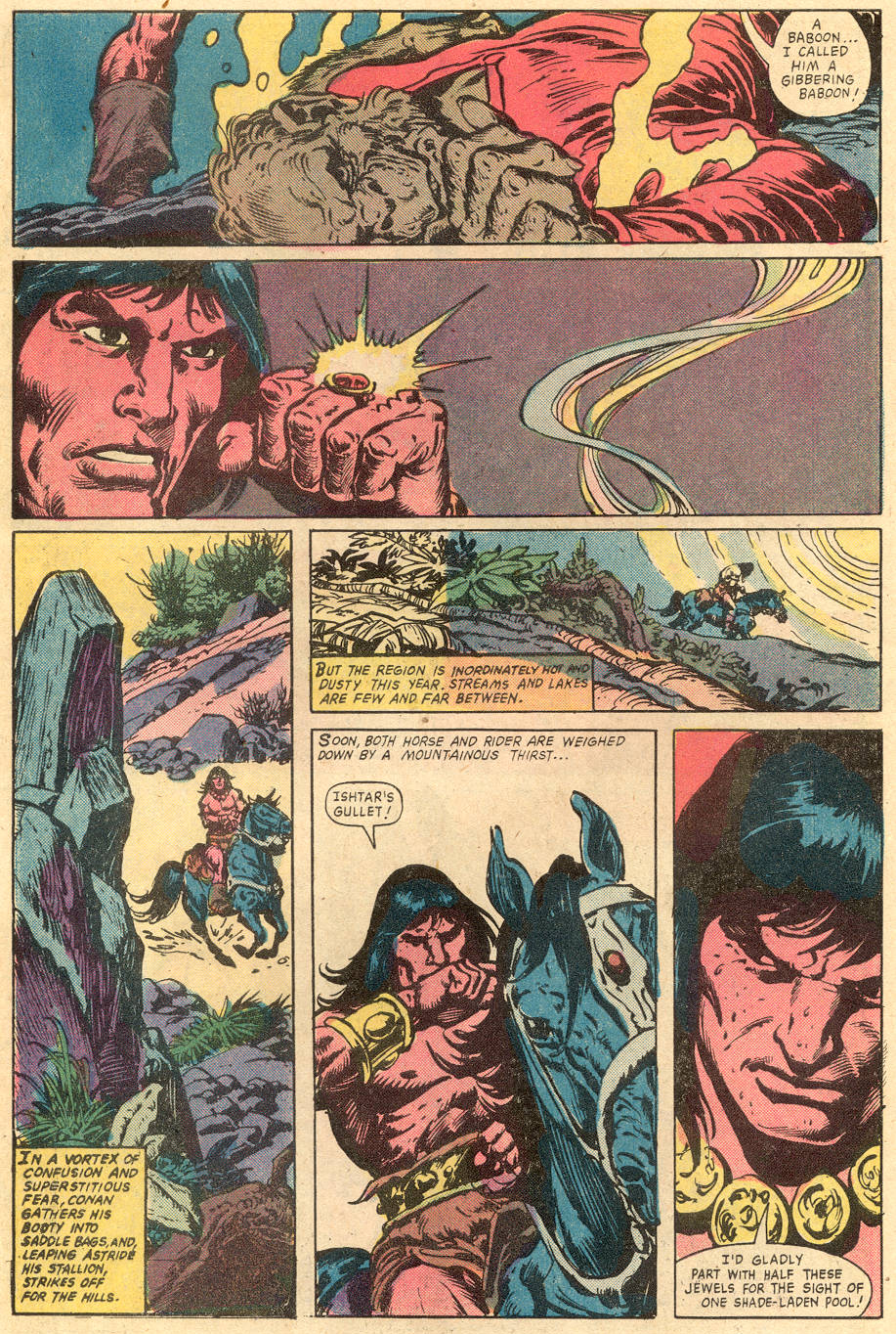 Conan the Barbarian (1970) Issue #131 #143 - English 7