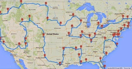 Maps Mania The Traveling Tourist Problem