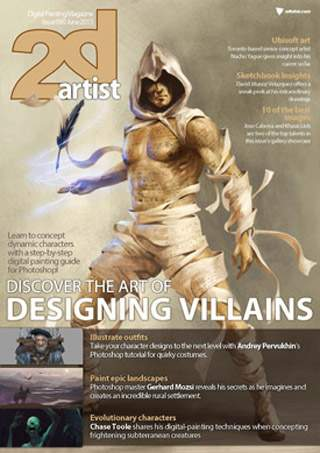 2D Artist Magazine Issue 90 June 2013