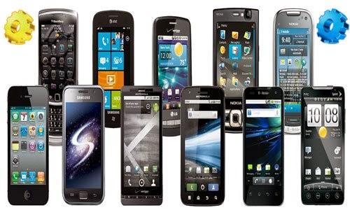 Smartphones, configurações