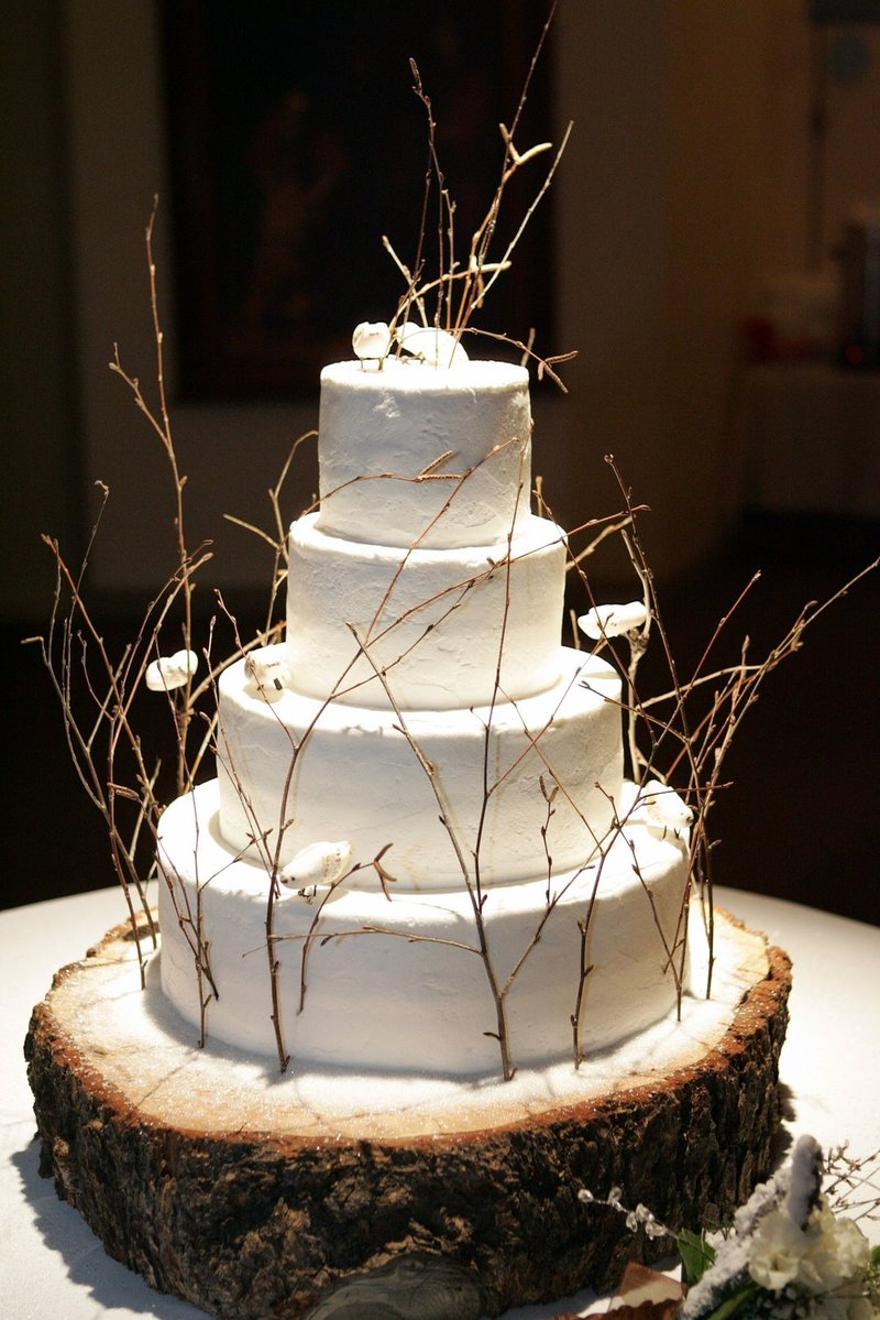 Wedding Cake Stand Tree Stump The Princess And T Developing Details Theme