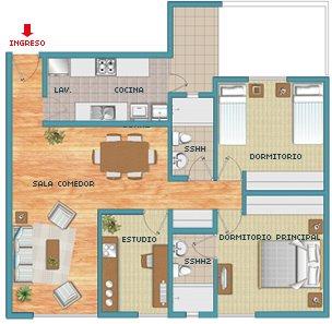 Instalaciones electricas residenciales cuales son los for Cuarto de 6 metros cuadrados