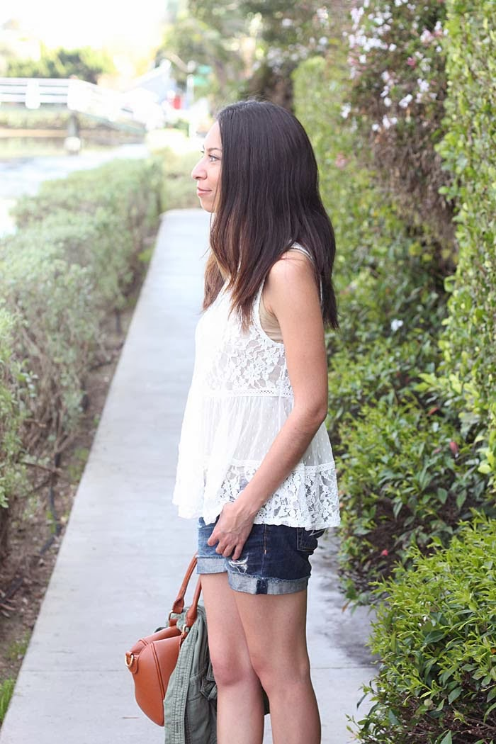how to style lace casually