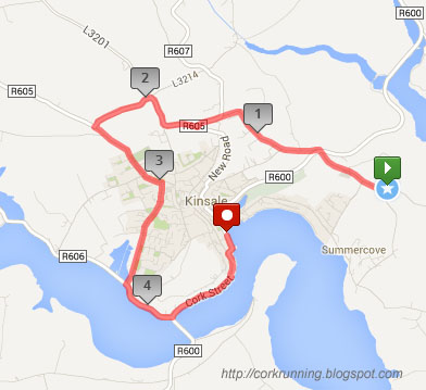 K Jones Kinsale There is a shuttle bus service after the race to take runners and ...