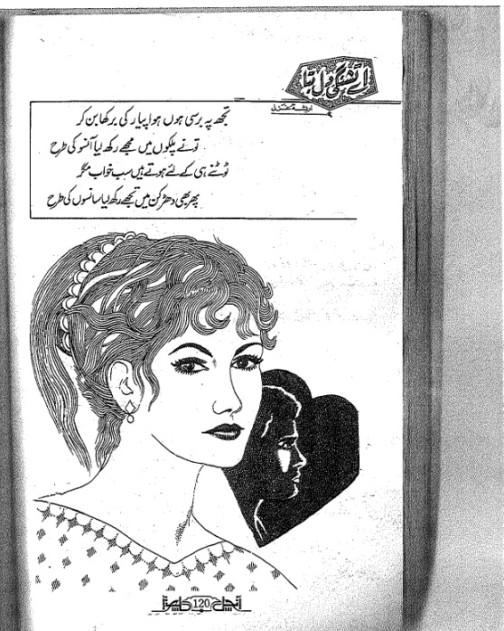 Aey Tishangi e dil bta novel by Areesha Ghazal pdf.