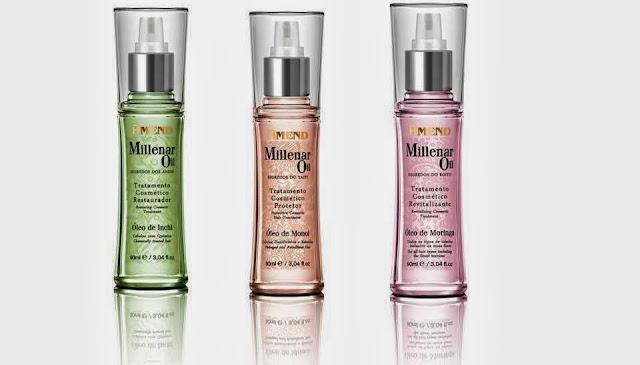 Coleção Millenar Oil Segredos do Mundo: Tratamento de ponta para seus cabelos