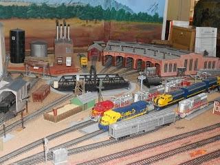 model train layouts