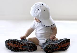 Divertida foto de bebe rapero