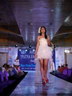 Priyanka Darjee (Laber) in Patna fashion week