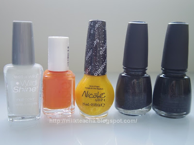 Happy Halloween Nail polishes