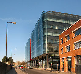 Kings Place from York Way