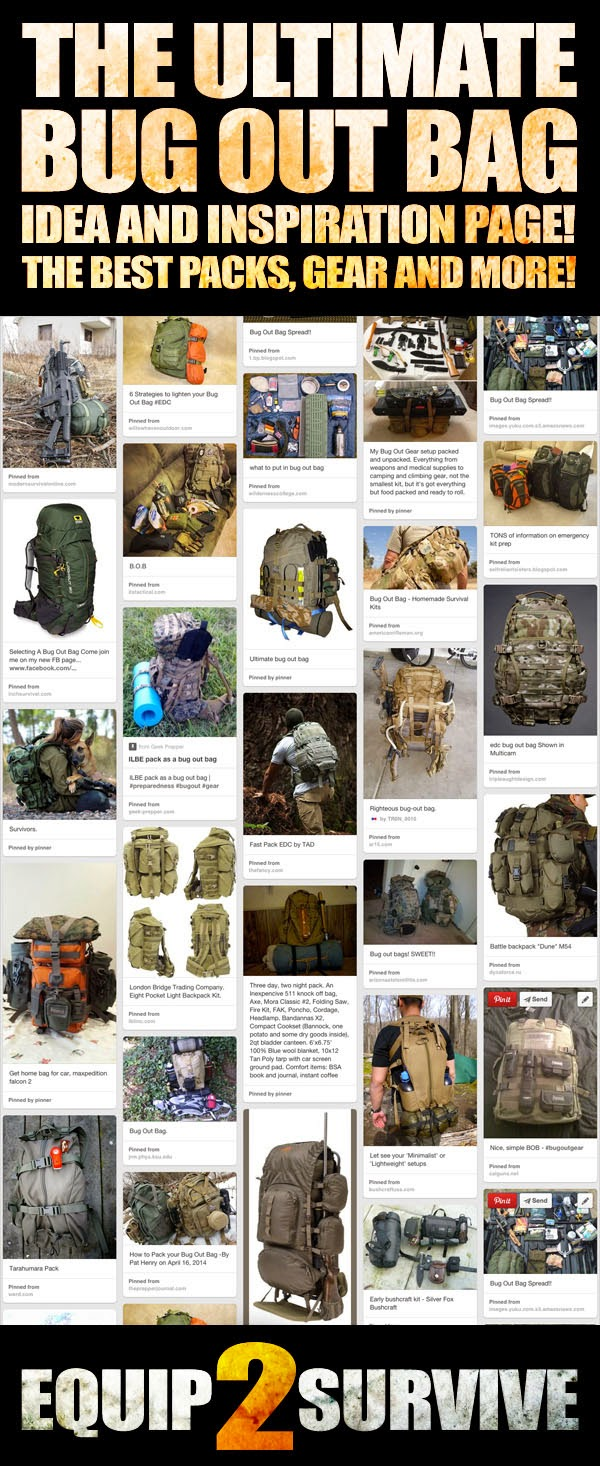 The ultimate bug out bag inspiration page!