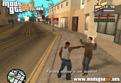 SA - Mod Assaltar Pedestres