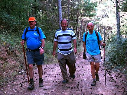 Caminant per la Carena de les Fonts