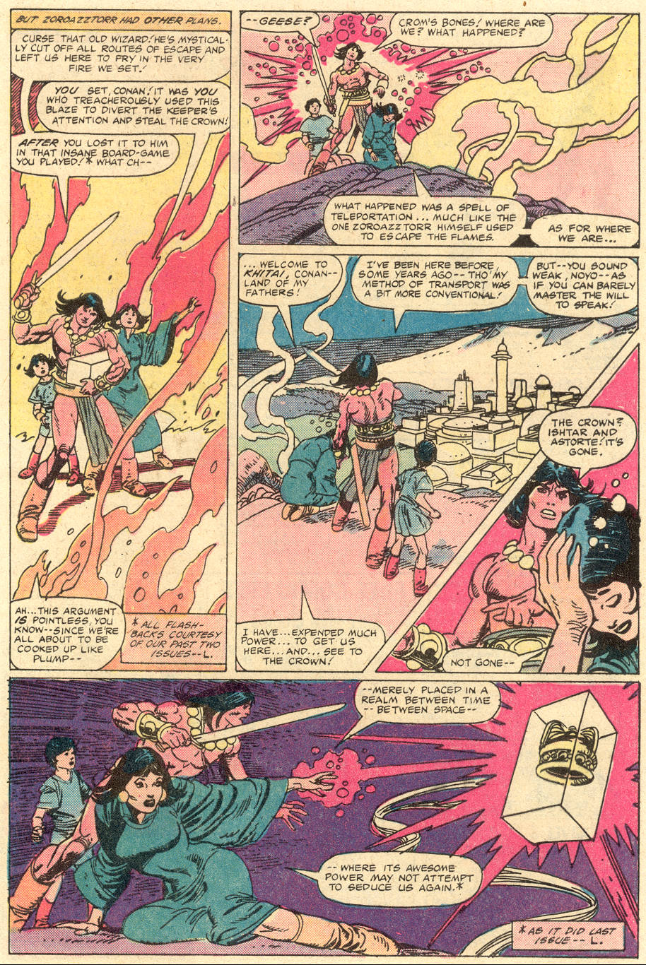 Conan the Barbarian (1970) Issue #130 #142 - English 4