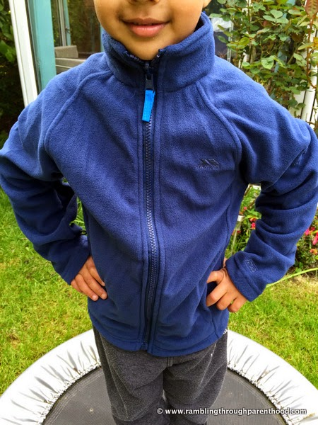 Putting it to the test -Sulivan Boy's 3 in 1 Waterproof Jacket by Trespass