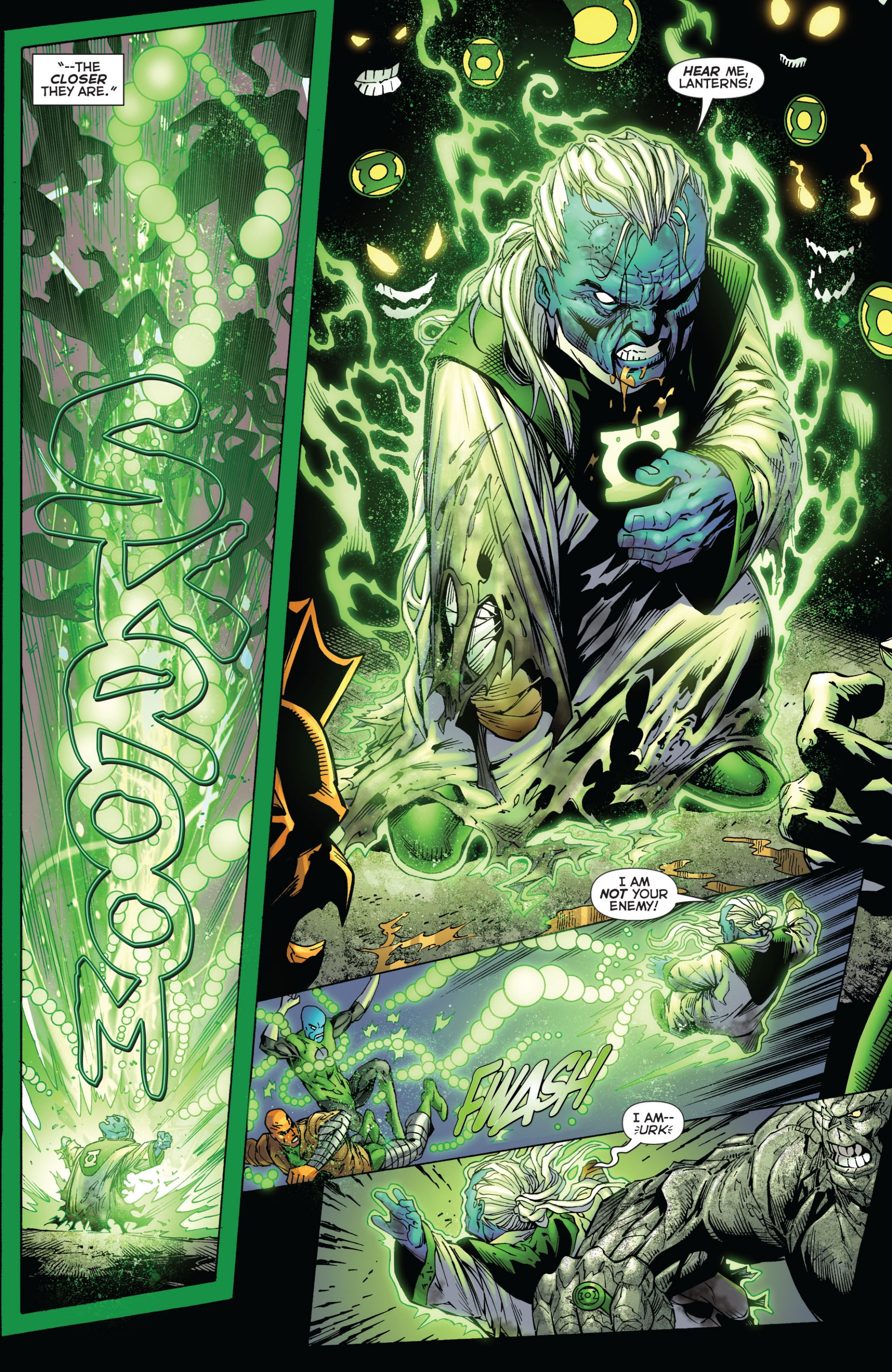 Read online Green Lantern Corps (2006) comic -  Issue #59 - 9