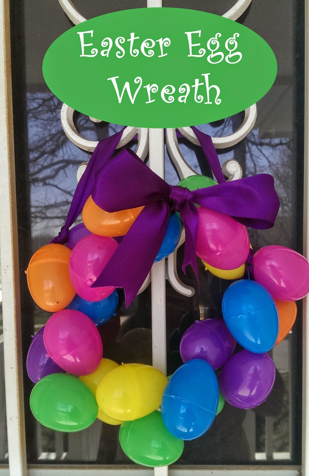 Easter Egg Wreath: Crafts for Kids