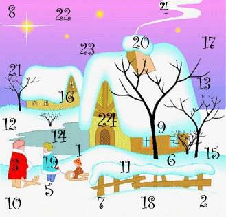 l 39 ombre du cerisier calendrier de l 39 avent jour 23. Black Bedroom Furniture Sets. Home Design Ideas
