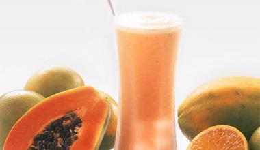 Suco de papaya