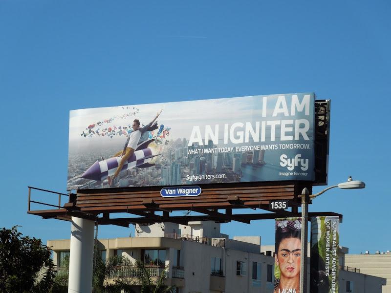 Igniter Syfy billboard