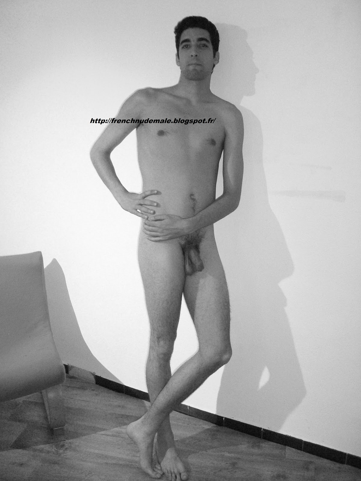 french nude male