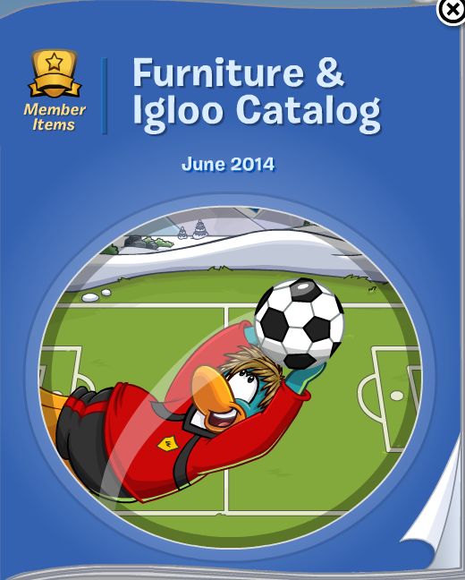 Club Penguin Furniture & Igloo Catalog Cheats June 2014